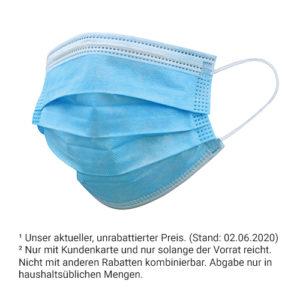 10 x Mund-Nasen-Schutz nur 6,99 €²<br>5 x Mund-Nasen-Schutz nur 3,99 €²